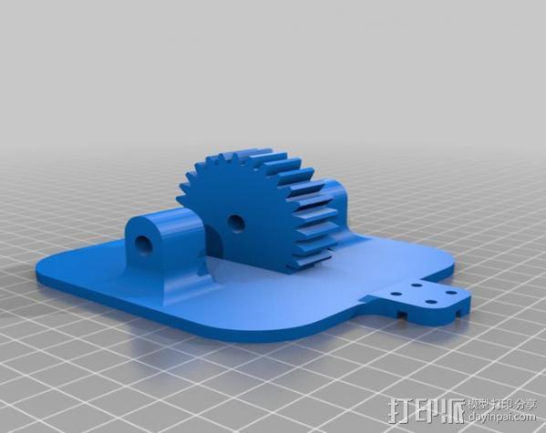 双轴太阳能追踪器 3D模型  图6