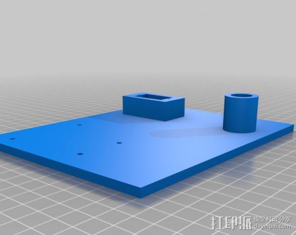 双轴太阳能追踪器 3D模型  图9
