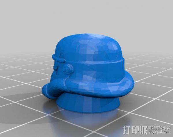 阀帽骑兵 3D模型  图2