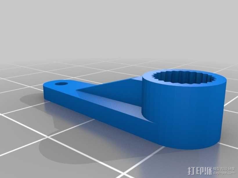 参数型伺服臂 3D模型  图9