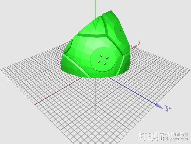 龟壳赛车 3D模型  图2