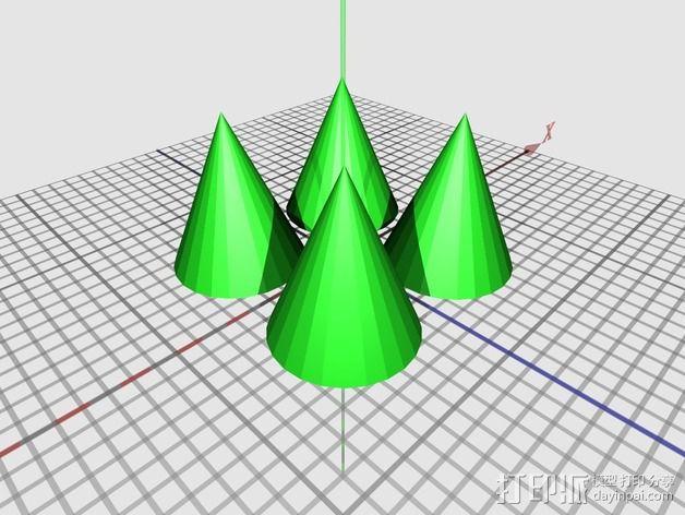 龟壳赛车 3D模型  图3