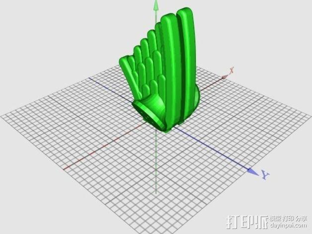 龟壳赛车 3D模型  图4