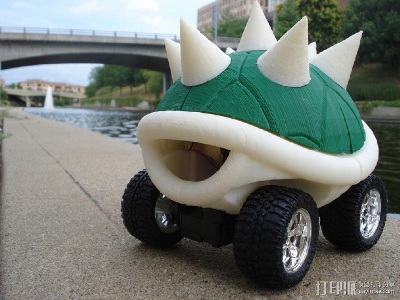龟壳赛车 3D模型  图5