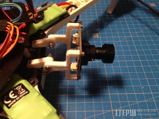 闭路电视摄像头 支架 3D模型  图6