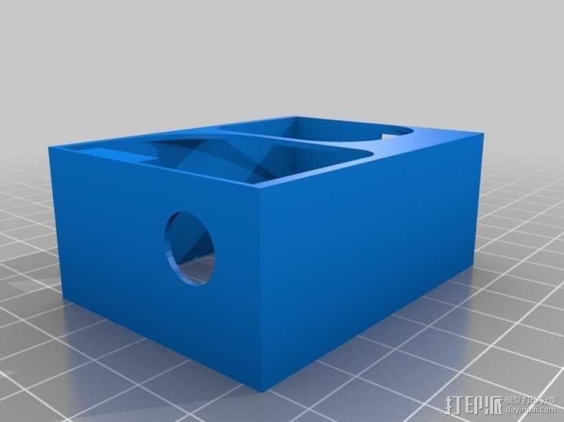 GoPro hero 3外壳 3D模型  图2