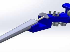 1:16电子小提琴  3D模型