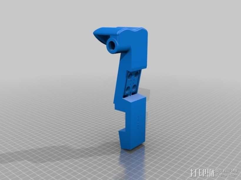 1:16电子小提琴  3D模型  图5