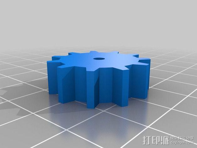 手动发电机 3D模型  图3