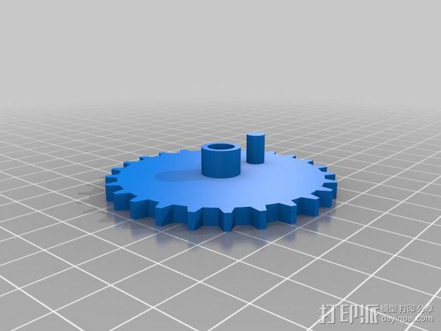 手动发电机 3D模型  图5