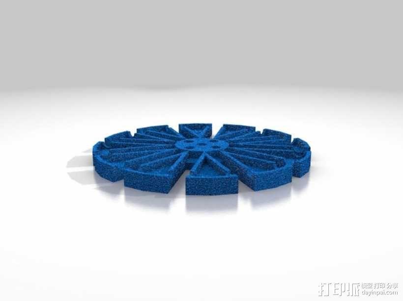 通用全向轮 3D模型  图2