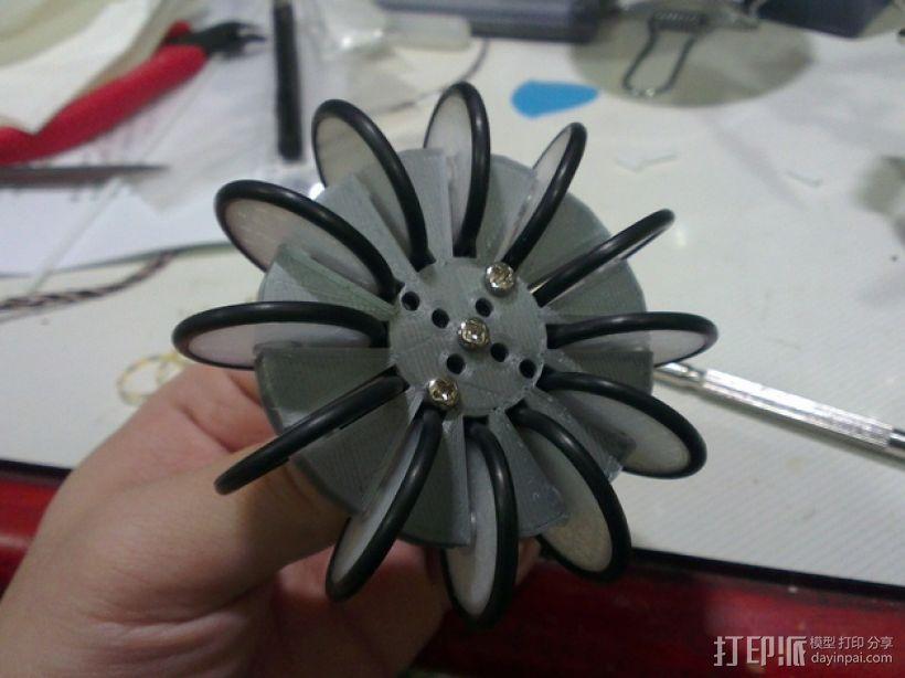 通用全向轮 3D模型  图7