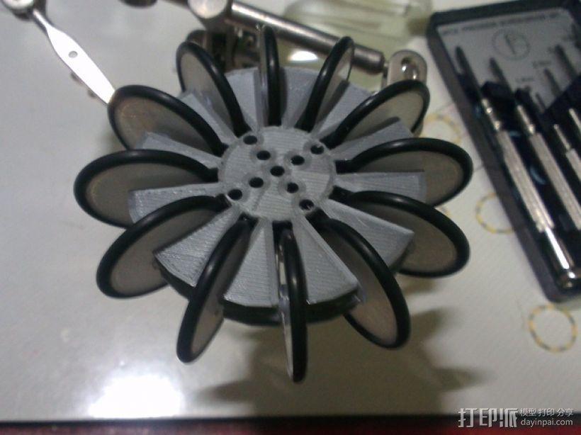 通用全向轮 3D模型  图6