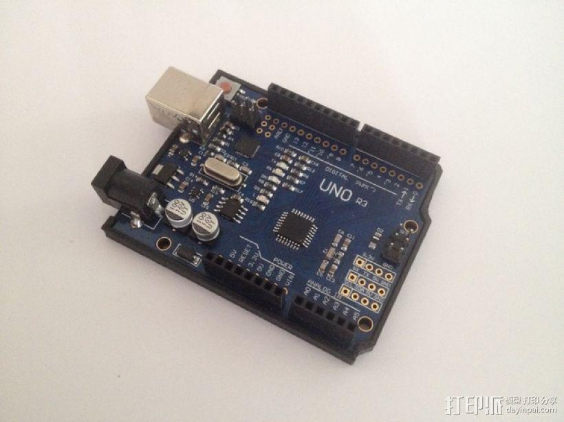 Arduino Uno保护支架 3D模型  图1