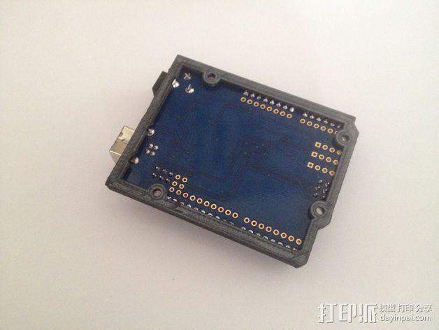 Arduino Uno保护支架 3D模型  图3