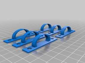 电缆夹 3D模型