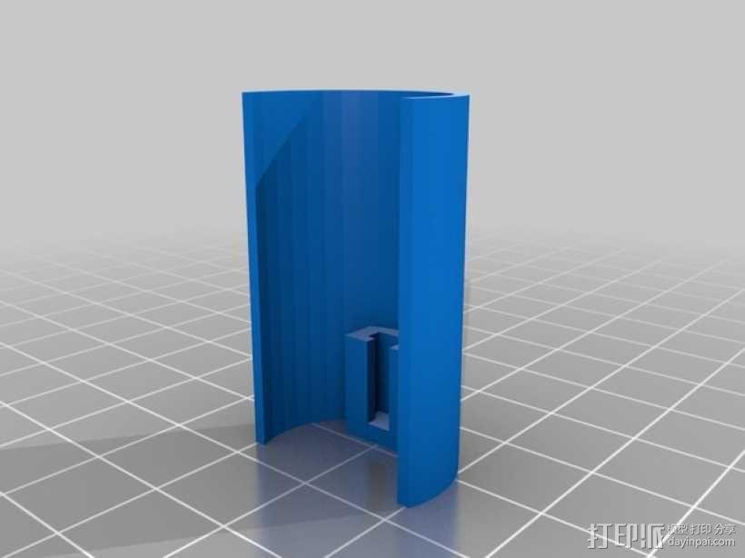 Traxxas避震器外壳 3D模型  图2