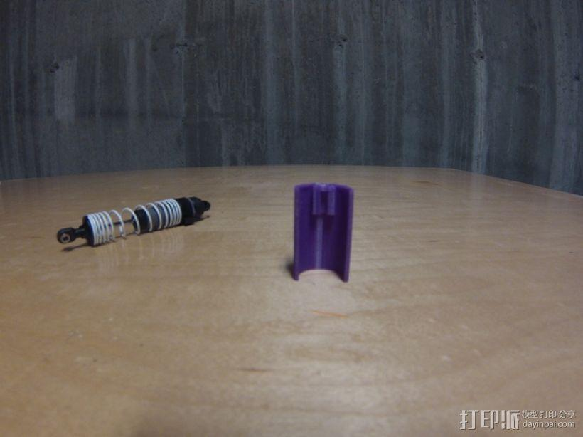 Traxxas避震器外壳 3D模型  图5