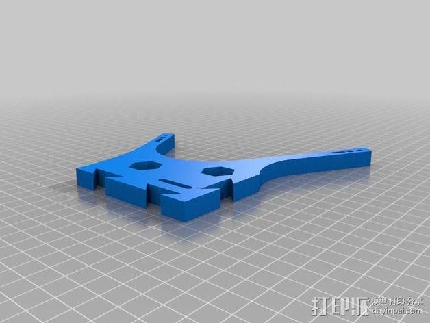 迷你六旋翼 3D模型  图6