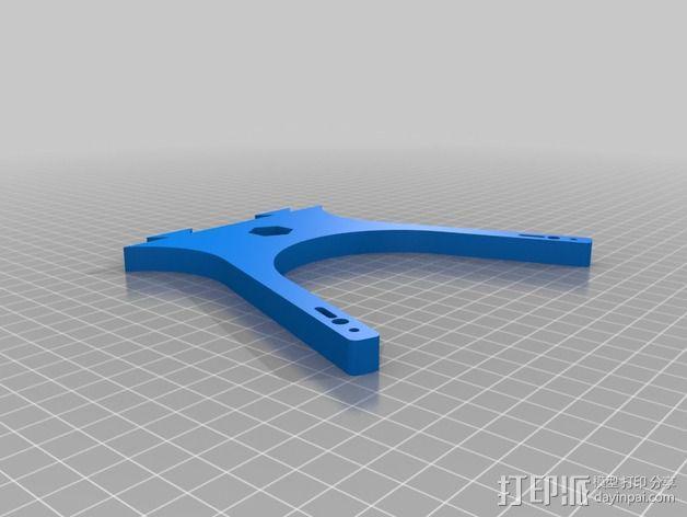迷你六旋翼 3D模型  图4