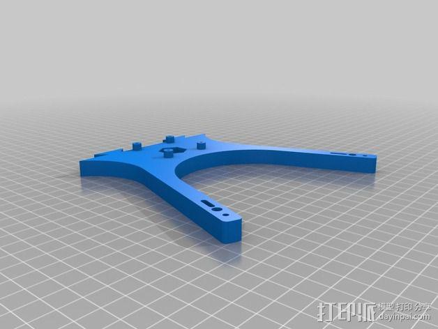 迷你六旋翼 3D模型  图7