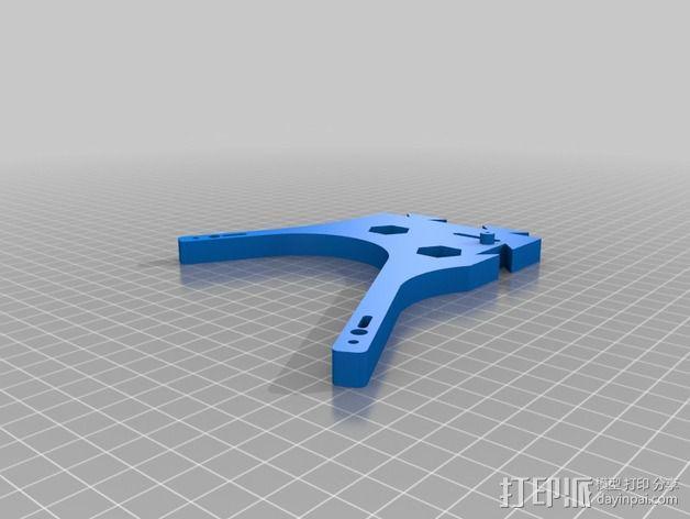 迷你六旋翼 3D模型  图8