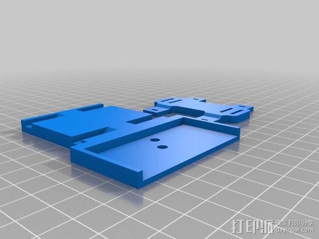 束线带 防震底座 3D模型  图2