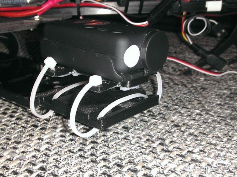 束线带 防震底座 3D模型  图1