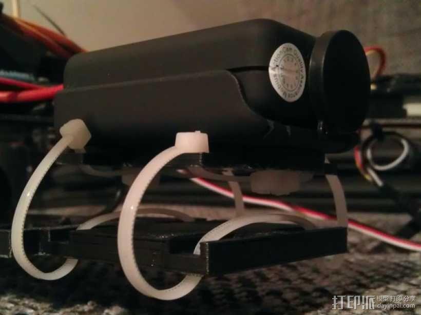 束线带 防震底座 3D模型  图3
