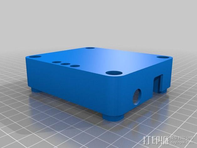 Arduino UNO电路板外壳 3D模型  图3