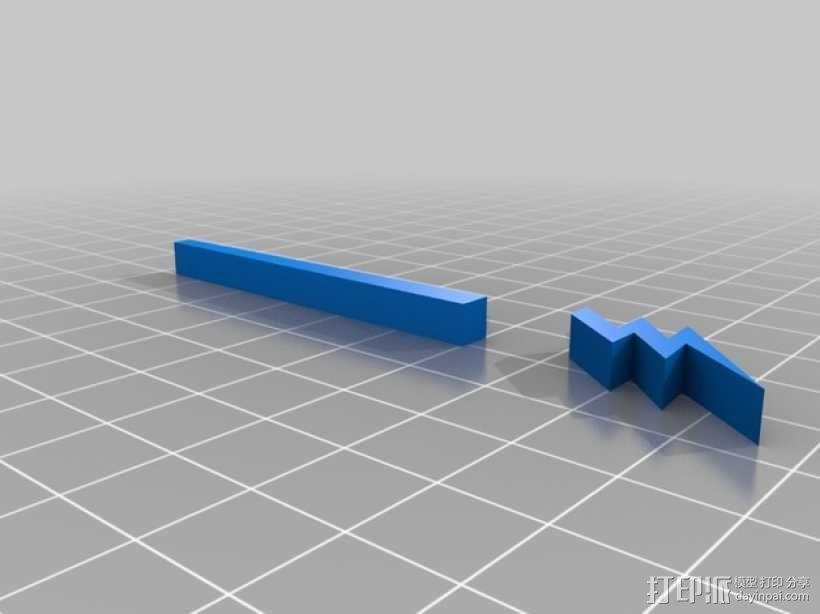 吉他 3D模型  图3