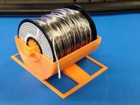 焊料轴 支架 3D模型