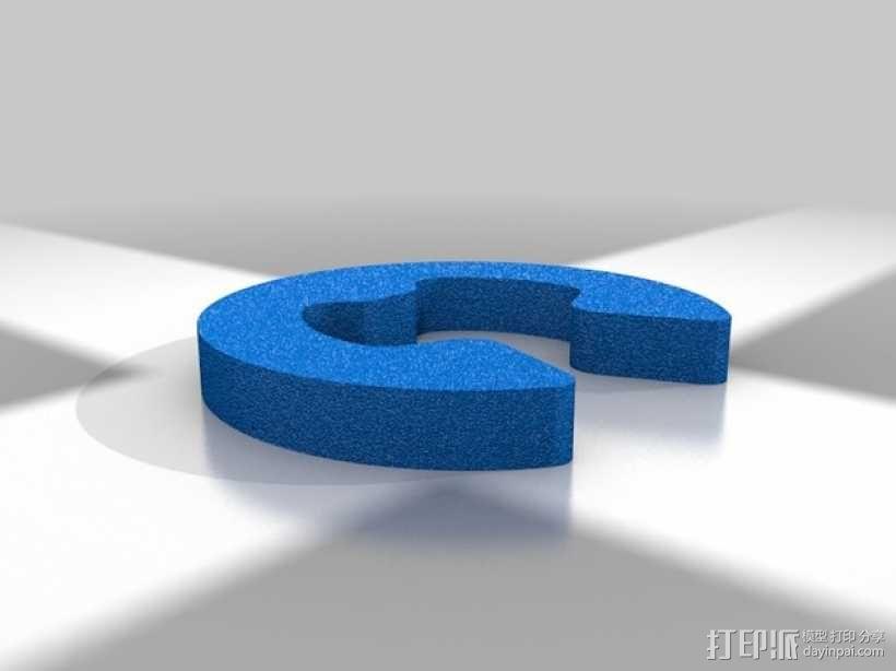 Vex机械爪 3D模型  图2