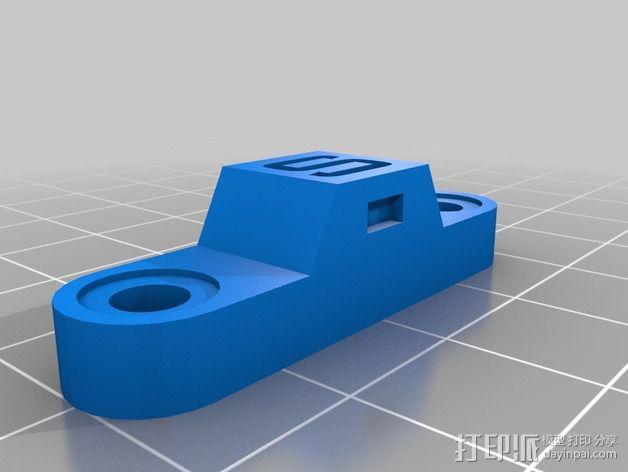 土壤水分传感器  3D模型  图2