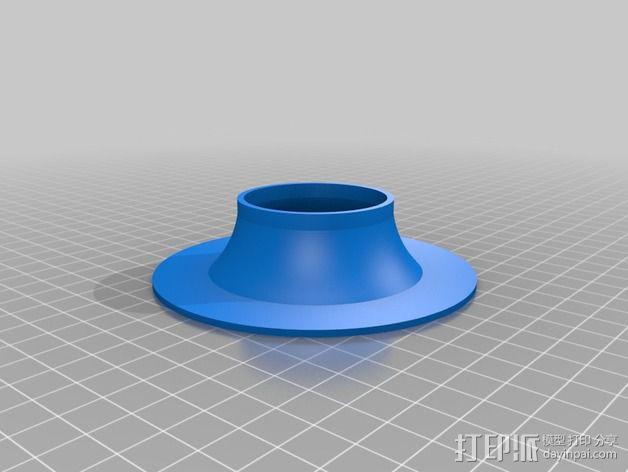 涡轮增压器  3D模型  图2