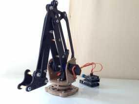 工业机器人  3D模型