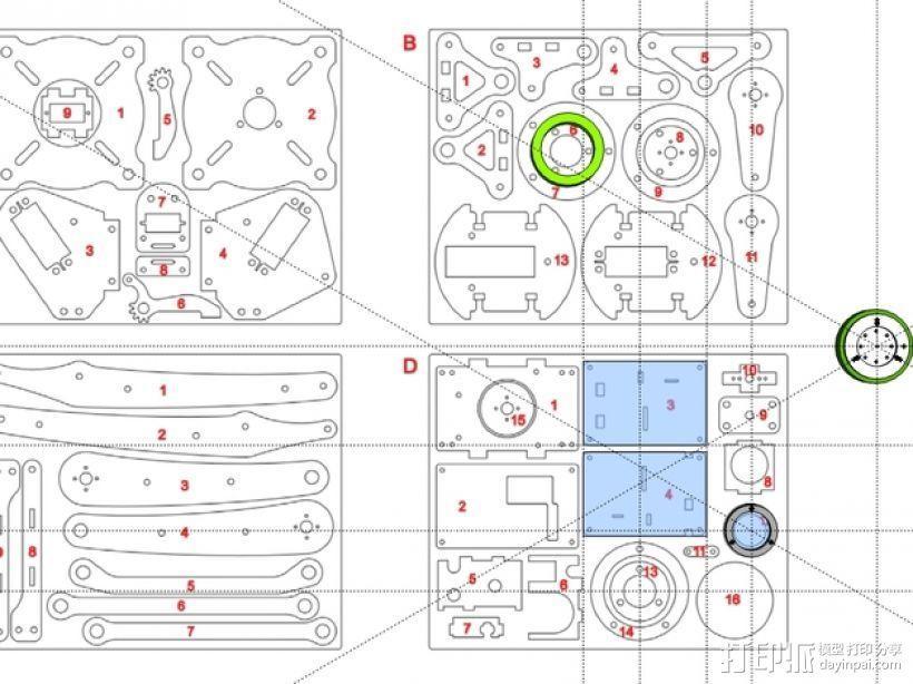 工业机器人  3D模型  图36