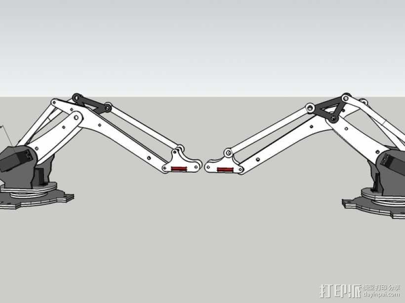 工业机器人  3D模型  图47
