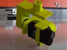 索尼HDR-AS15摄像机 平衡环 3D模型