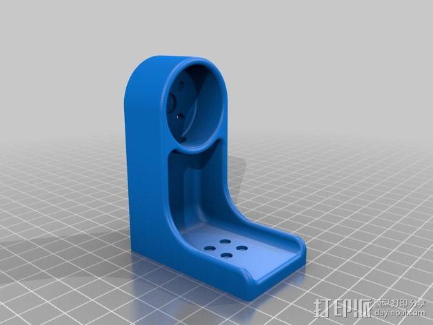 索尼HDR-AS15摄像机 平衡环 3D模型  图5