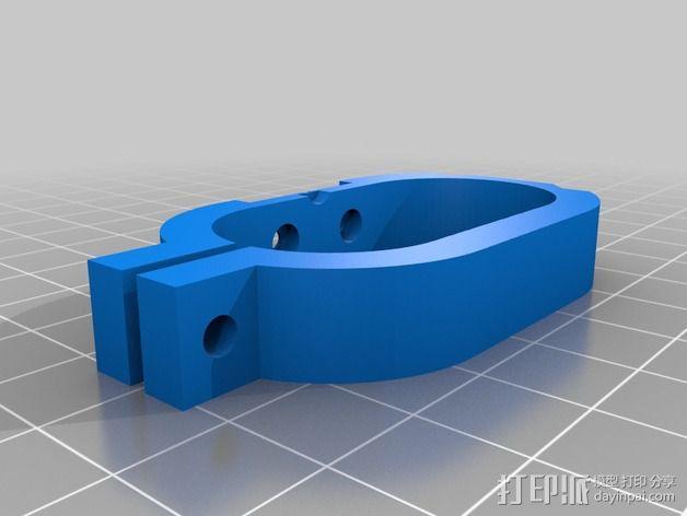 索尼HDR-AS15摄像机 平衡环 3D模型  图7