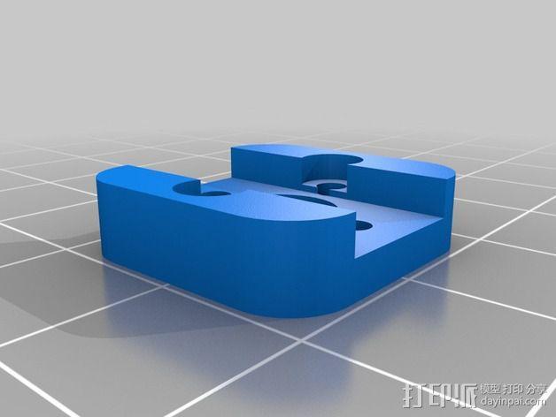 索尼HDR-AS15摄像机 平衡环 3D模型  图8
