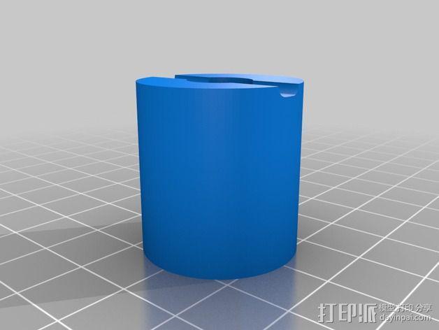 索尼HDR-AS15摄像机 平衡环 3D模型  图11