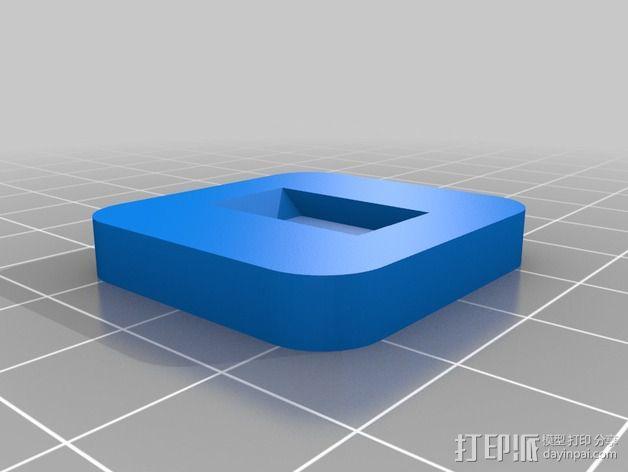 索尼HDR-AS15摄像机 平衡环 3D模型  图9