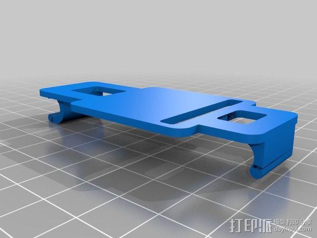 多轴飞行器 控制器外壳 3D模型  图10