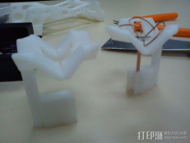 视频发射机天线夹具 3D模型  图2