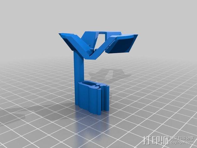 视频发射机天线夹具 3D模型  图6