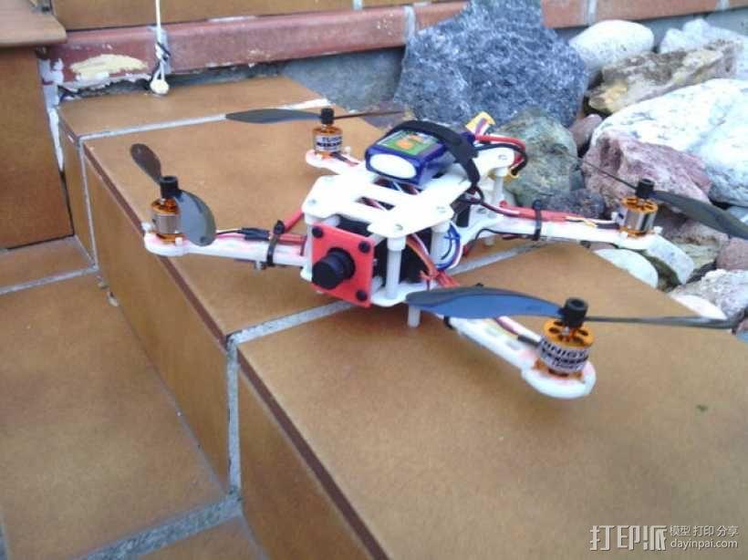 迷你FPV四轴飞行器 3D模型  图1