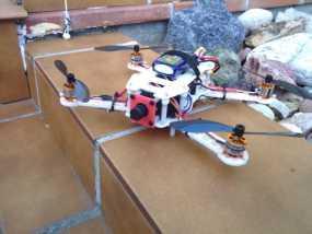 迷你FPV四轴飞行器 3D模型