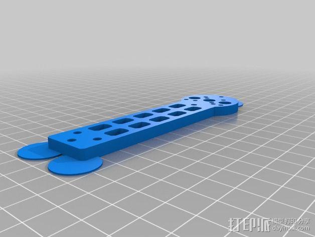 迷你FPV四轴飞行器 3D模型  图9